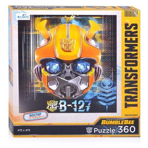 Купить Пазл Origami Трансформеры Бамблби В-127 + постер (04607), 360 дет., Пазлы