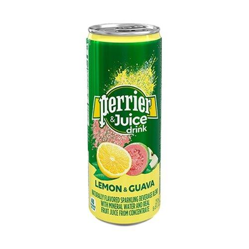 Газированный напиток Perrier лимон и гуава, 0.25 л