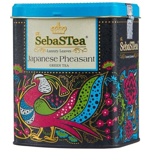 Чай зеленый SebaSTea Japanese pheasant, 100 г чай листовой зеленый sebastea chinesse dragon 100 г
