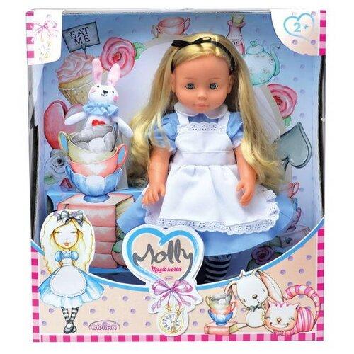 Купить Интерактивная кукла Dimian Bambina Bebe Molly Magic World, 40 см, BD1365RU-M37, Куклы и пупсы