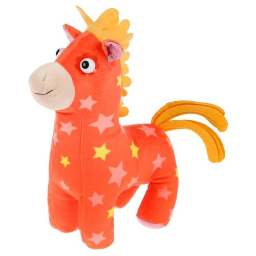 Купить Мягкая игрушка Мульти-Пульти Деревяшки Лошадка Иго-го 20 см, без чипа, Мягкие игрушки