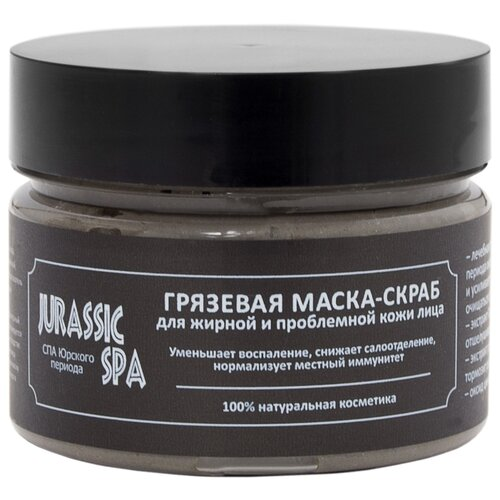 Jurassic SPA маска-скраб для жирной и проблемной кожи лица, 100 мл