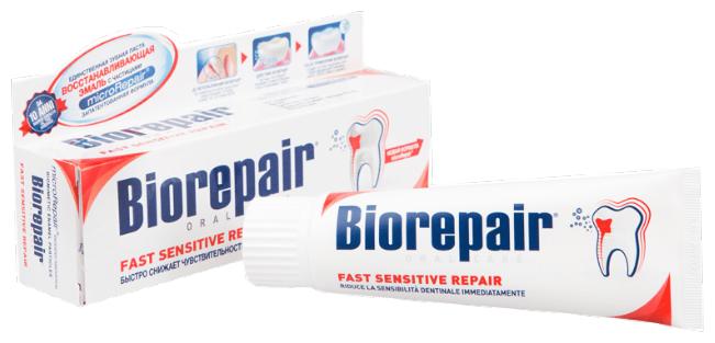 Зубная паста Biorepair Fast Sensitive Repair, для чувствительных зубов