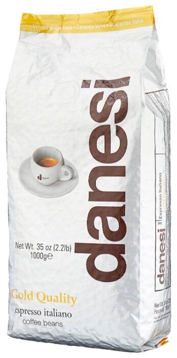 Кофе в зернах Danesi Gold, мягкая упаковка