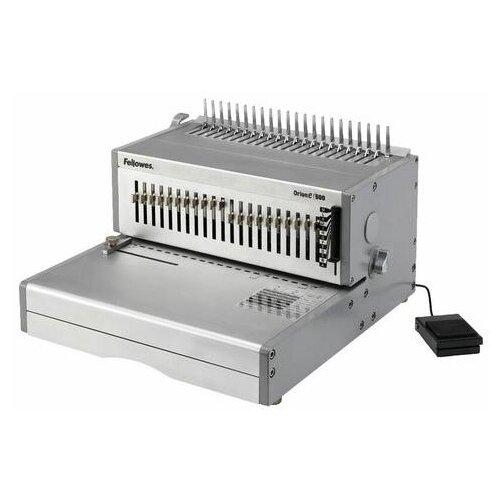 Переплетная машина для пластиковой пружины FELLOWES ORION-Е, электрическая, пробивает 30 листов, сшивает 500 листов, FS-56427