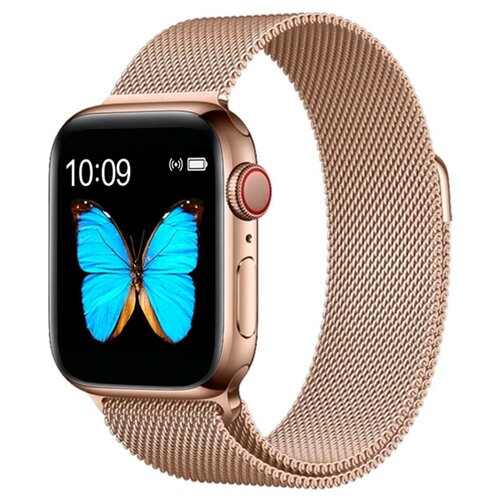 Умные часы BandRate Smart BRST500500WB, золотистый