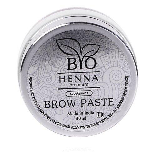 Bio Henna Паста для бровей 30 мл серебряный bio henna скраб пилинг для бровей soft peeling