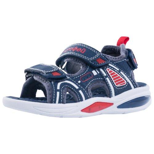 Фото - Сандалии КОТОФЕЙ размер 26, 12 синий/красный сандалии regatta размер 33 синий красный