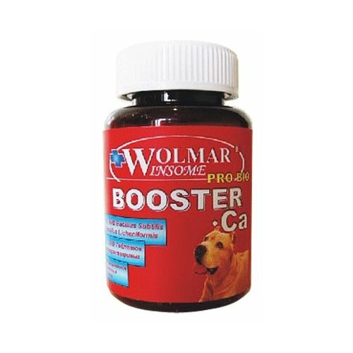 Витамины Wolmar Winsome Pro Bio Booster Ca для щенков средних и крупных пород 180 таб.