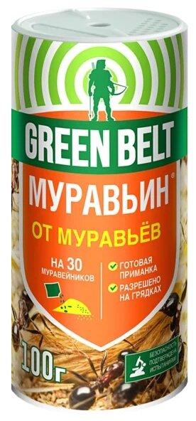 Green Belt Средство от садовых муравьёв Муравьин, 100 г