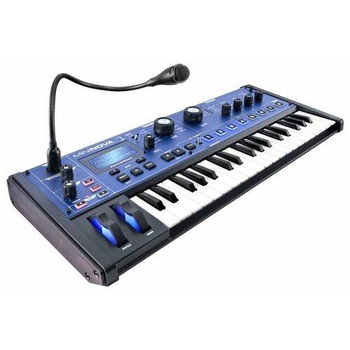 Синтезатор Novation MiniNova синий/черный