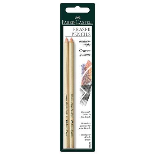 Купить Faber-Castell Набор ластиков-карандашей Perfection, 2 шт розовый, Ластики