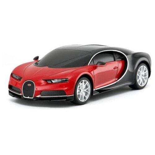 цена на Гоночная машина Rastar Bugatti Chiron (76100) 1:24 18.9 см красный/черный
