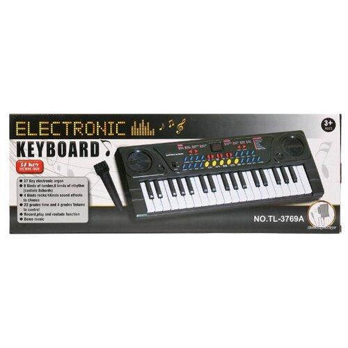 Синтезатор Shantou Gepai TL-3769A черный синтезатор shantou b1549997