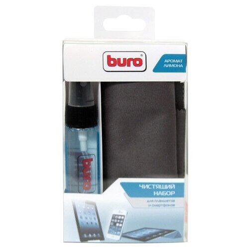 Фото - Набор Buro BU-Tablet+Smartphone чистящий гель+многоразовая салфетка для экрана набор стаканов для виски crystalite bohemia ideal 290 мл 6 предметов с узором
