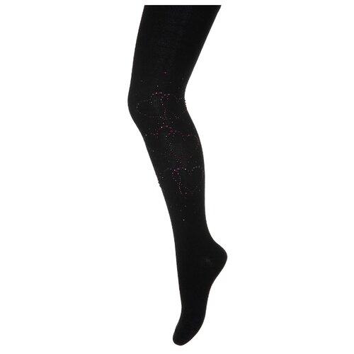 Фото - Колготки PE.CHITTO размер 110-116, черный/фиолетовый колготки аба к02 размер 12 фиолетовый