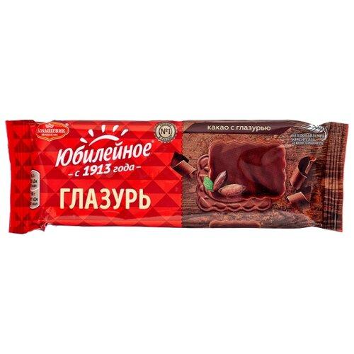Печенье Юбилейное какао с глазурью, 116 г черемушки мини бамбини сахарное печенье какао 150 г page 3