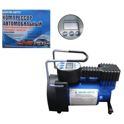 Автомобильный компрессор МАЯКАВТО AC590ma черный/синий