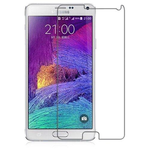 Защитное стекло With Love. Moscow противоударное для Samsung Galaxy Note 4 прозрачныйЗащитные пленки и стекла<br>