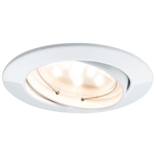 Встраиваемый светильник Paulmann 92765 3 шт. встраиваемый светильник paulmann 92765 3 шт