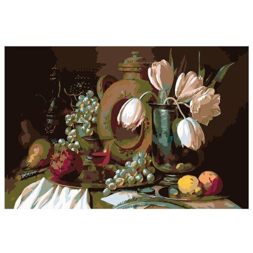 Купить Картина по номерам, 100 x 150, RA032, Живопись по номерам , набор для раскрашивания, раскраска, Картины по номерам и контурам