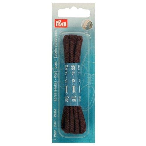 Шнурки для обуви Prym 97489 коричневый