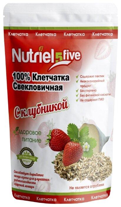 Клетчатка Nutriel five свекловичная с клубникой без сахара, 150 г