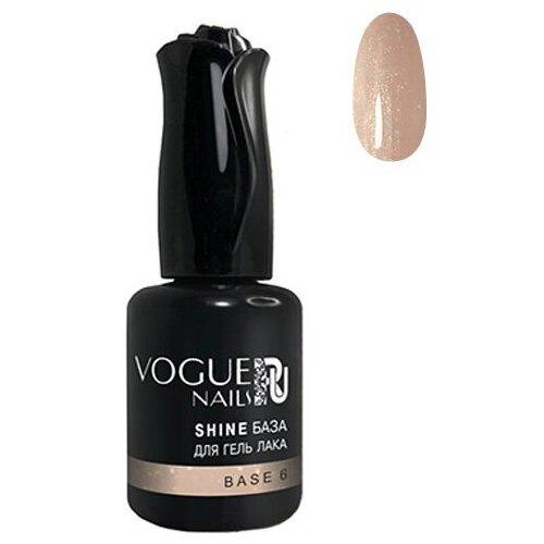 Vogue Nails базовое покрытие Shine база для гель-лака 10 мл №6 vogue nails базовое покрытие shine база для гель лака 18 мл base 6