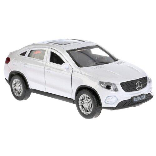 Купить Легковой автомобиль ТЕХНОПАРК Mercedes-Benz Gle Coupe (GLE-COUPE-GY/WT/BE) 12 см белый, Машинки и техника