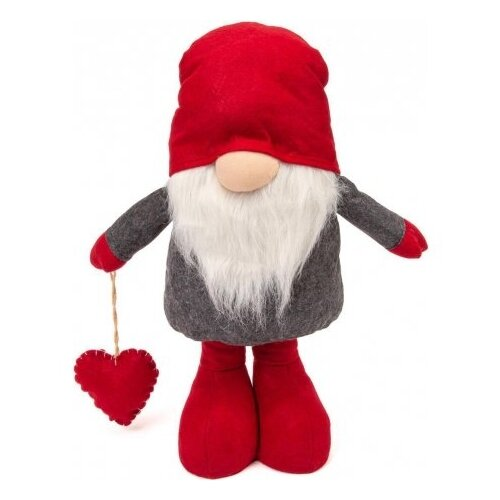 Фигурка Winter Glade Гном 83/128 см (M61) красный/серый фигурка гном в вязанном колпачке