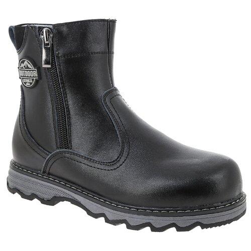 Ботинки KENKA размер 31, черный ботинки для мальчика kenka цвет черный fkh 6626 2 black размер 28