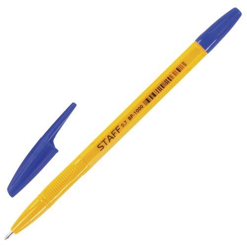 STAFF Ручка шариковая BP-1000, 0.7 мм (BP148/BP149), синий цвет чернил ручка корректор staff 7 мл