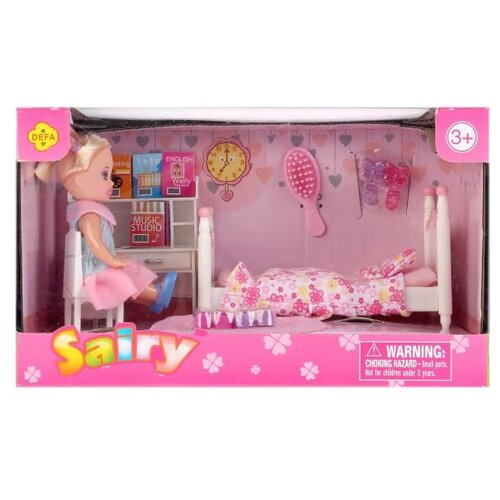 Кукла Defa Lucy Сайри с мебелью, 8393