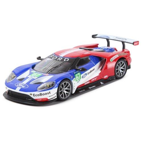 Купить Bburago Машинка металлическая ралли 2017 Ford GT №67 Le Mans, 1:32, Машинки и техника