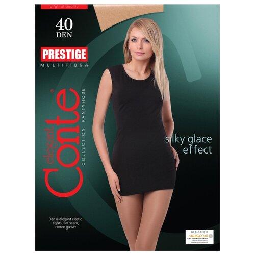 Фото - Колготки Conte Elegant Prestige 40 den, размер 5, natural (бежевый) колготки conte elegant active soft 40 den размер 5 natural бежевый