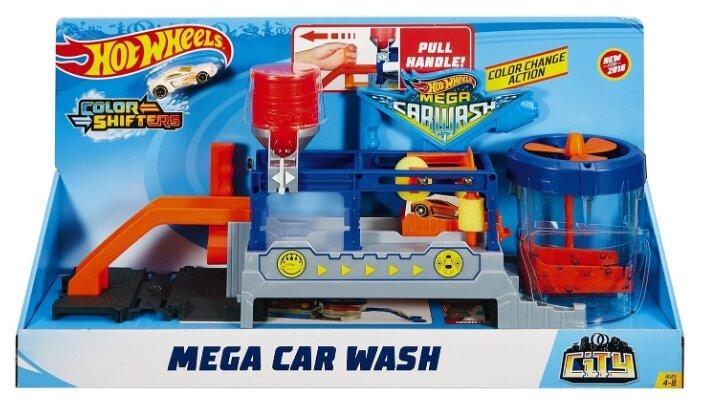 Трек Hot Wheels City Mega Car Wash FTB66 — купить и выбрать из более, чем 15 предложений по выгодной цене на Яндекс.Маркете