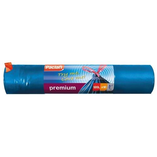 Мешки для мусора Paclan 120 л (10 шт.) синий