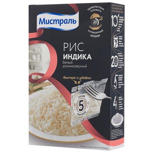 Рис Мистраль Индика белый длиннозерный 400 г