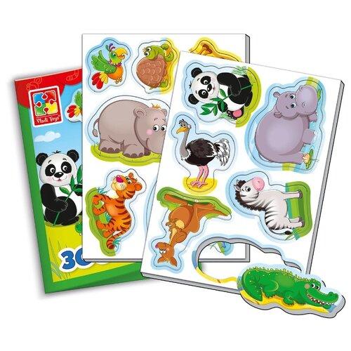 Фигурки Vladi Toys Мой маленький мир Зоопарк VT310602 обучающая игра vladi toys мой маленький мир зоопарк