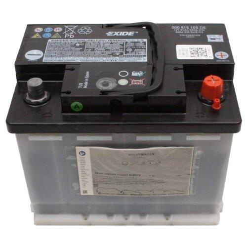 Автомобильный аккумулятор VOLKSWAGEN 000 915 105 DE