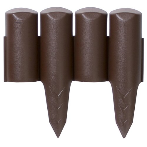 Ограждение для грядок Prosperplast IPBO, коричневый, 2.5 х 0.23 м