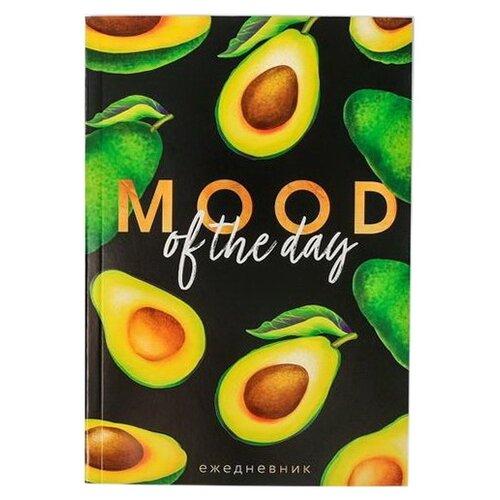 Ежедневник ArtFox Mood of the day 4947702 недатированный, А5, 64 листов, черный/зеленый ежедневник artfox ll la la llama 4336344 недатированный а5 64 листов черный синий
