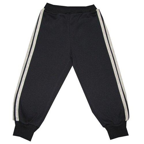 Брюки ПАНДА дети размер 92, черный/серыйБрюки и шорты<br>