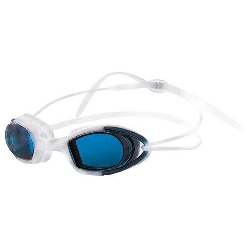 Фото - Очки для плавания ATEMI N9102M белый/синий очки маска для плавания atemi z401 z402 синий серый
