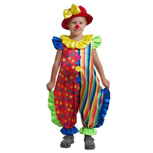Костюм Маскарад у Алисы Клоун-2, разноцветный, размер 28(116)