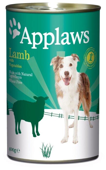 Корм для собак Applaws ягненок с овощами 400г