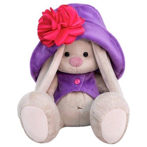Купить Мягкая игрушка Зайка Ми в лиловом 23 см, Мягкие игрушки