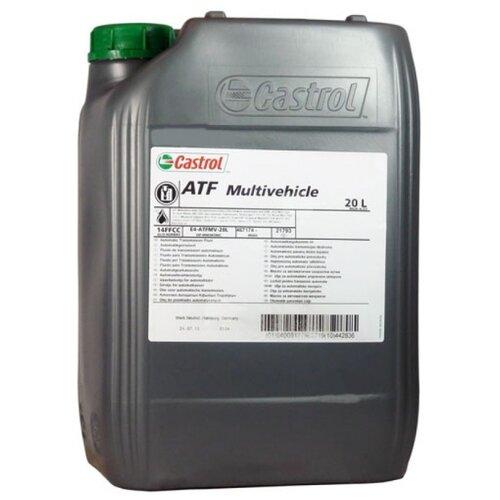 Трансмиссионное масло Castrol ATF Multivehicle 20 л трансмиссионное масло castrol atf multivehicle 20 л
