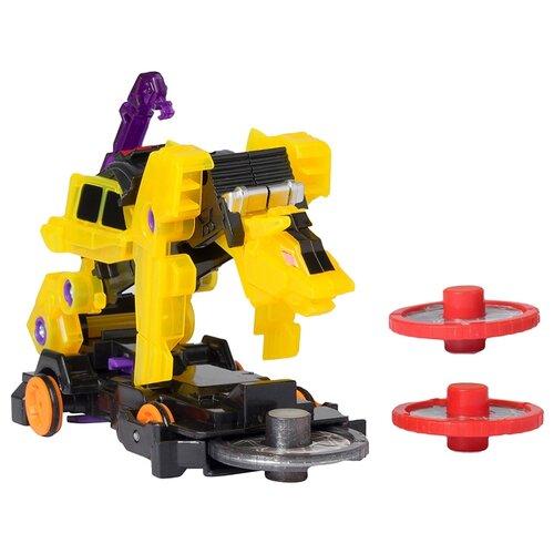 Купить Интерактивная игрушка трансформер РОСМЭН Дикие Скричеры. Линейка 2. Ви-Бон (34831) черный/желтый, Роботы и трансформеры