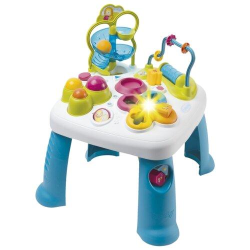 Фото - Интерактивная развивающая игрушка Smoby Игровой стол Cotoons 110426 синий/белый smoby ночник cotoons цвет розовый